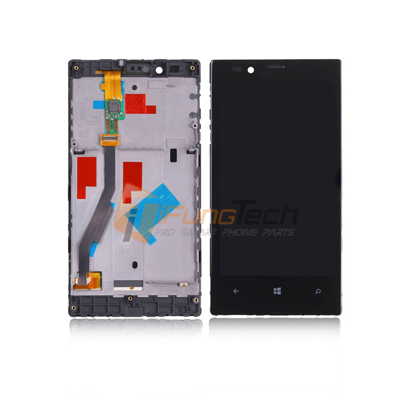 Replacement For Nokia Lumia 720 LCD Display Touch Screen Digitizer Assembly with frame Free Shipping aaa quality replacement for nokia lumia 920 lcd display with touch screen digitizer assembly with frame free shipping