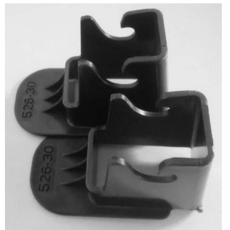 New 2 Pcs Latch Guide! Passenger Car Child Safety Seats General Isofix Interface Belt Latch Guide (ISOFIX) HR330