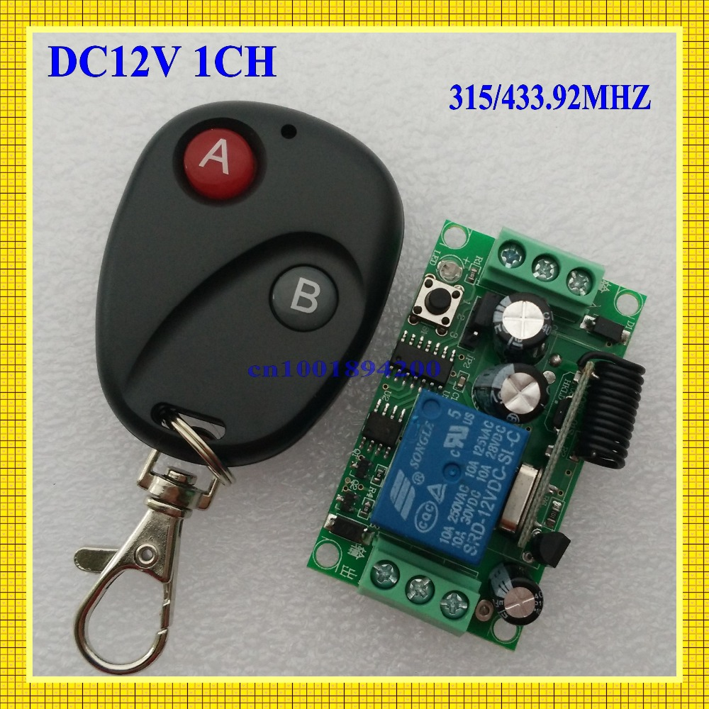 Lighting Accessories Switches Dc12v1ch Rf Wireless Remote Control Switch System Receivers&transmitter M4/ T4/ L4 Adusted Learning Code Gateway Access System