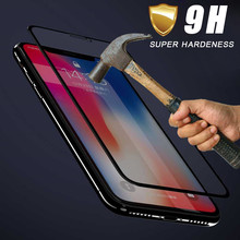 Screen Protector Film Full Cover Tempered Glass Shield Film For Iphone Xs Max 6.5inch/Iphone Xs 5.8inch