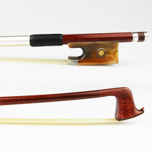 4/4 Size Carbon Fiber Core Hybrid Pernambuco Violin bow Ox Horn Frog Natural Horsehair Good Performance Violin Parts Accessories 5 set 4 4 violin bow part snakewood fr og bow top parts violin parts