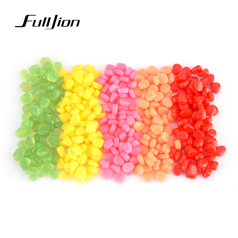 100Pcs//Lot Soft Baits corn With Corn Smell Carp Fishing Lures Floating Baits WR