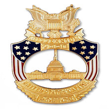 Best selling military  challenge badge new style hollow plating gold