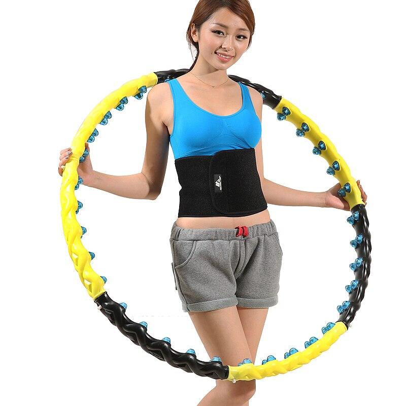 NEW Arrival Fitness Hula Hoop Massage Hoops Hula-hoop For BodyBuilding For Women or Men Hoops