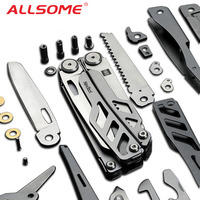 Pre Sale HUOHOU Multi function Knife 15 Functions Folding Knife Bottle Opener Screwdriver Pliers Scissor Wood Saw Wire Cutter