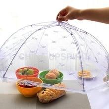 1 шт. новейший зонтик, покрытие для еды, противомоскитное покрытие для еды, кружевное покрытие для стола, для домашнего использования, покрытие для еды, кухонные гаджеты, инструменты для приготовления пищи