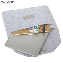 Carry360 Laptop Bag Sleeve for Apple Mac Book Air Pro Retina 11 12 13 15 inch Women Men Notebook for Macbook Air 13 Case Cover