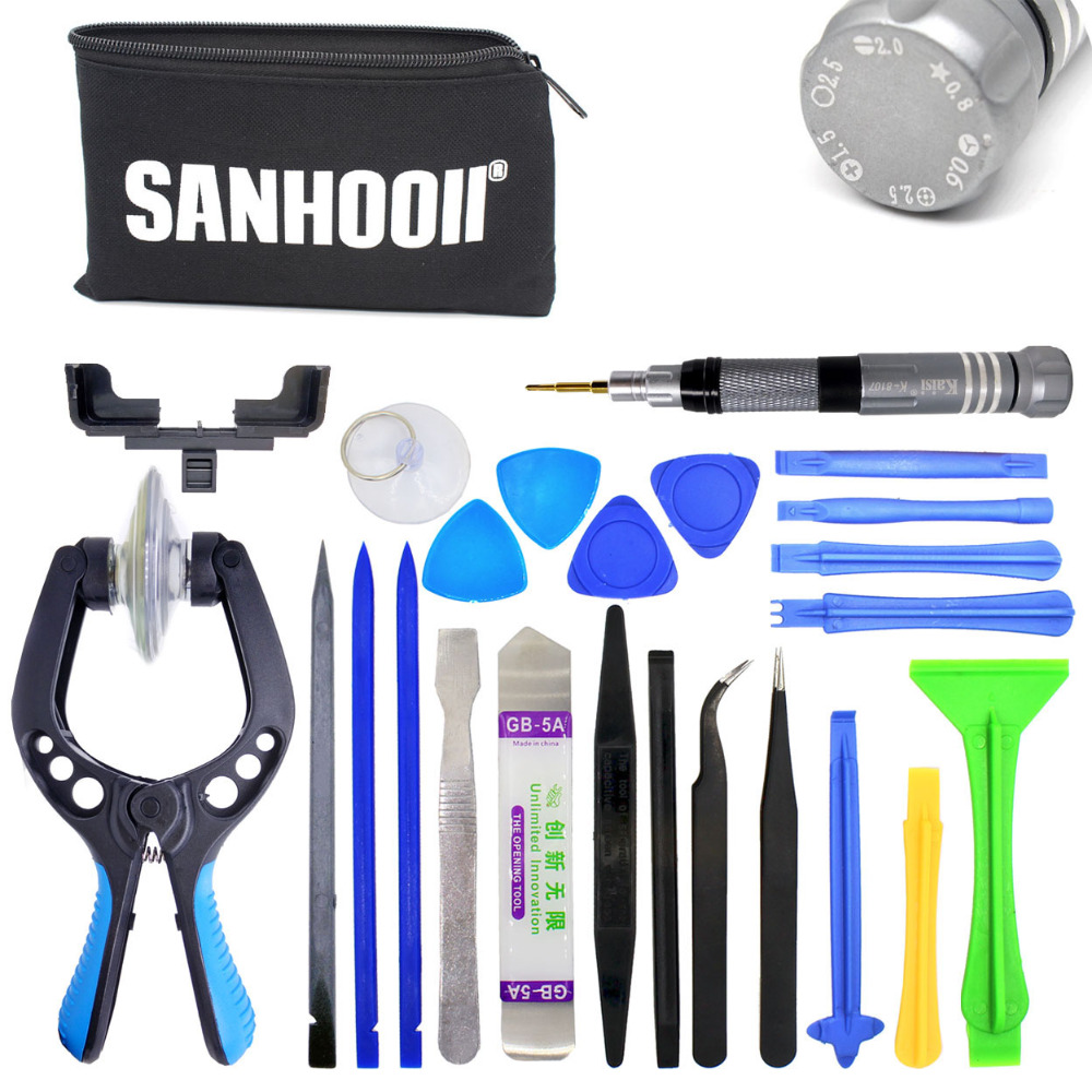 30in1 Cell Mobile Phone Screen Opening Plier Repair Screwdriver Pry Spudger Special for iPhone Tools set usb