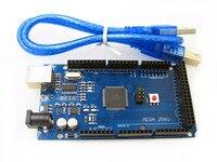 Free Shiping Mega 2560 R3 CH340G Mega2560 REV3 ATmega2560 16AU Board USB Cable X