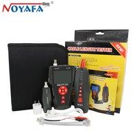Оригинальный Noyafa NF 8601 RJ45 телефонный кабель Диагностика тон детектор для BNC PING RJ11 линия для проверки витой пары, телефонной проводки сети LAN К
