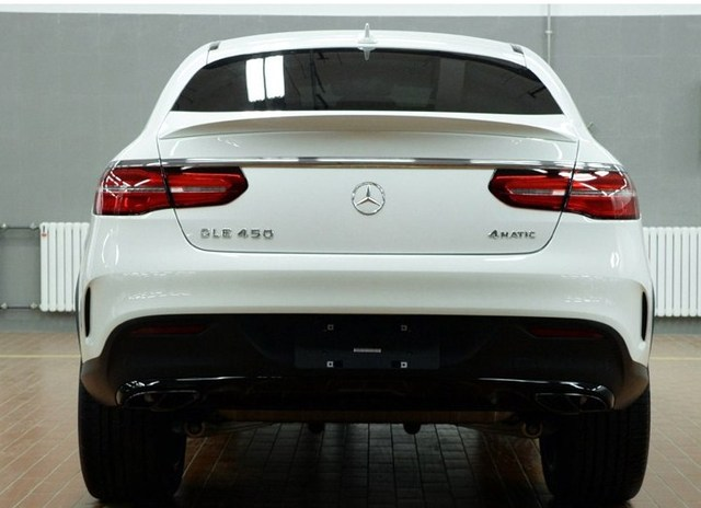 For Mercedes Gle Coupe Spoiler Benz Gle Class Trunk Spoiler W166