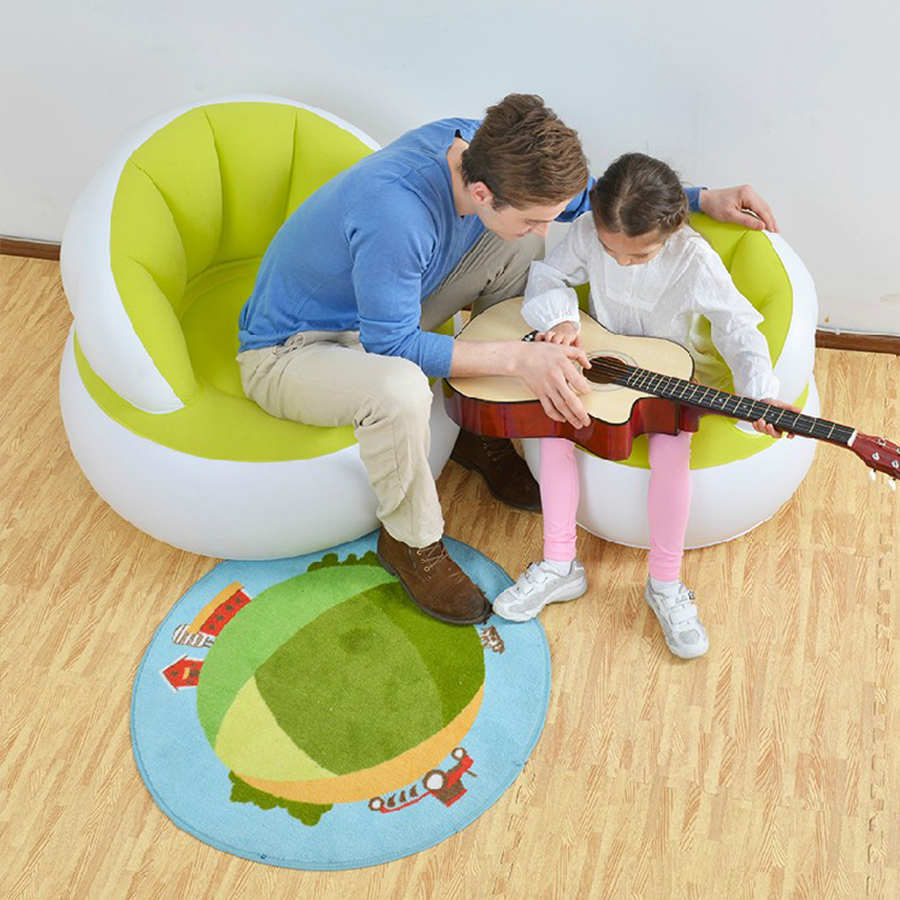 Childrens  New inflatable child baby Parenting high quality living room bedroom indoor safe and comfort portable Sofa chairChildrens  New inflatable child baby Parenting high quality living room bedroom indoor safe and comfort portable Sofa chair