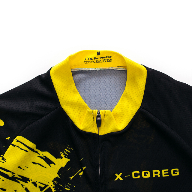 2020 equipe X-CQREG ciclismo roupas de bicicleta jérsei 12d almofadas gel dos homens ropa ciclismo verão topos ciclismo jerseys bicicleta shorts 3
