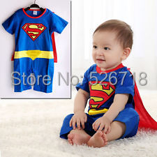 Mother & Kids ... Baby Clothing ... 32265469138 ... 5 ... Hot! 2019 New Fashion Cartoon Cotton Kids Boys Clothes Jumpsuit Batman Baby Boy Rompers Superman Baby Gilr Romper Baby Costume ...
