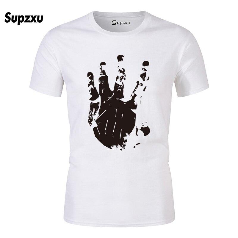 Newest Fashion Man Tshirt Xxxtentacion Summer Fashion T shirt Casual White Funny Cartoon Print T-shirt Hip Pop Tops Tshirts