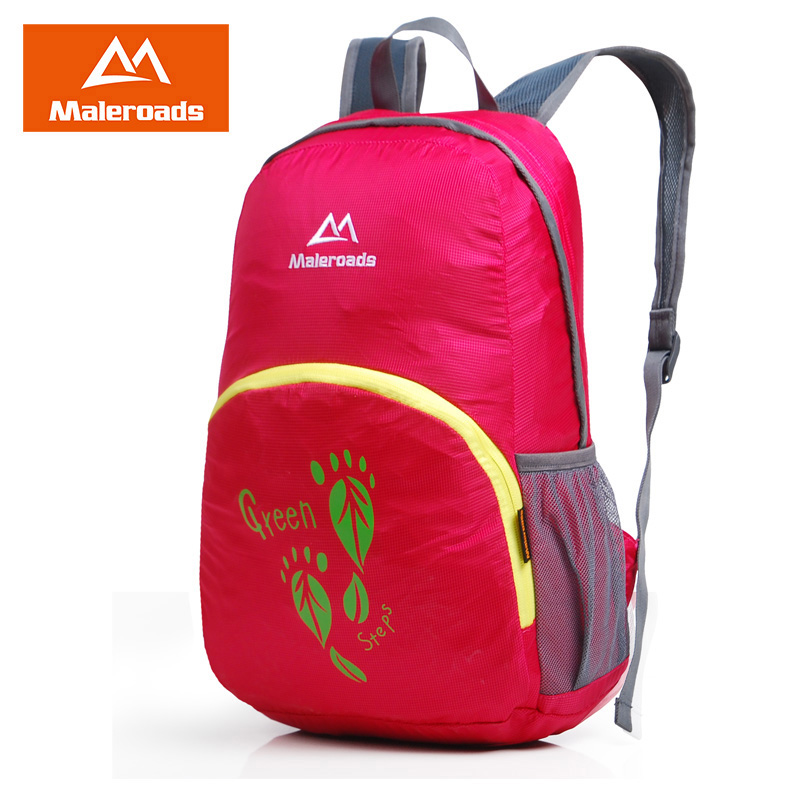 <font><b>Maleroads</b></font> folding bag backpack Lightweight Waterproof <font><b>Mochila</b></font> Student School Backpack Fold Travel Daily Backpack image
