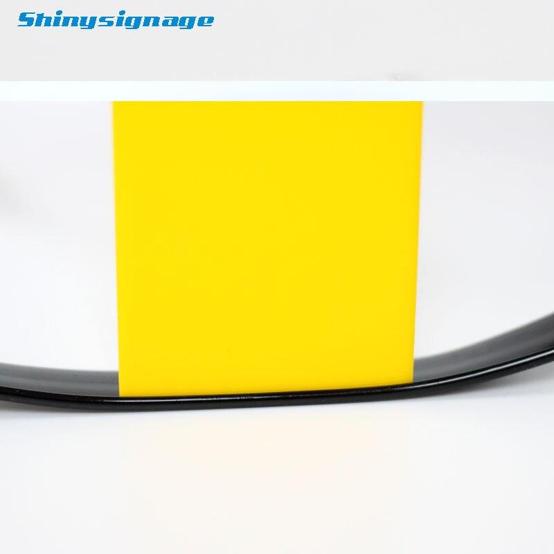 """Juodos spalvos """"J"""" tipo kanalo raidės kirpimo dangtelis, - Elektrinių įrankių priedai - Nuotrauka 4"""