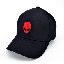 3D Embroidery Baseball Cap Alien Pattern Fashion Cool Adjustable Snapback Hip-Hop Hat