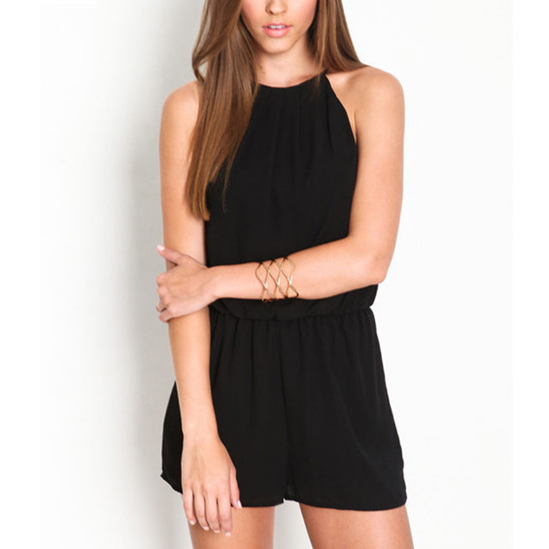 0255711b3aab Cocktail Dresses Cocktail Party Chiffon Halter culottes Hot pants Jumpsuit  Rompers Womens Jumpsuit Straight Solid Women s New-in Cocktail Dresses from  ...