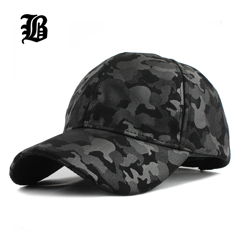 [FLB] 2017 Won't Let You Down Men and Women   Baseball     Cap   Camouflage Hat Gorras Militares Hombre Adjustable Snapbacks   Caps   F224