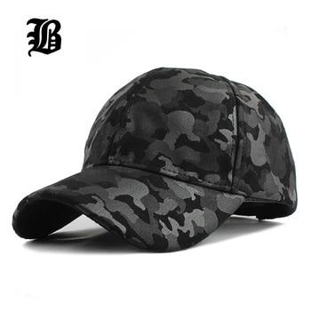 [FLB]-gorra de béisbol camuflaje unisex, sombrero militar ajustable, F224, 2020