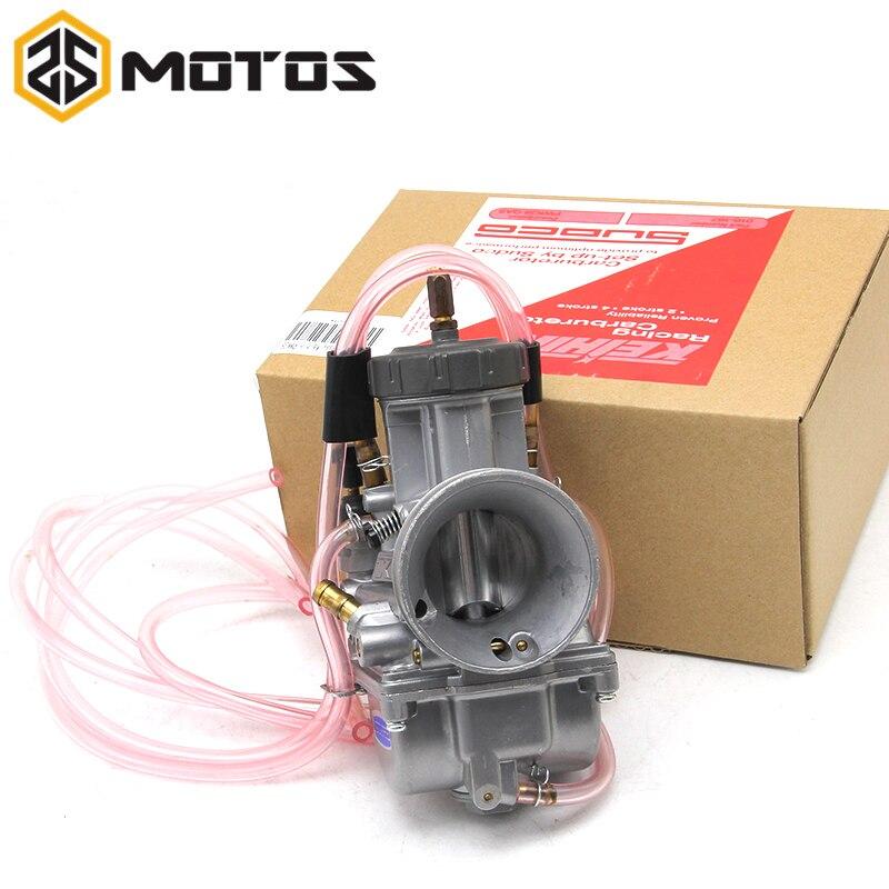 ZS MOTOS 4 T motor 33 34 35 36 38 40 42mm PWK KEIHIN Motorrad Vergaser universal zu off-road motor große verschiebung motor