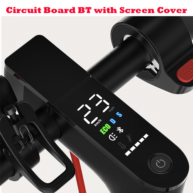 Xiaomi M365 Pro Scooter Dashboard with Screen Cover Xiaomi M365 Scooter Pro Circuit Board For Xiaomi m365 & Pro M365 Accessories
