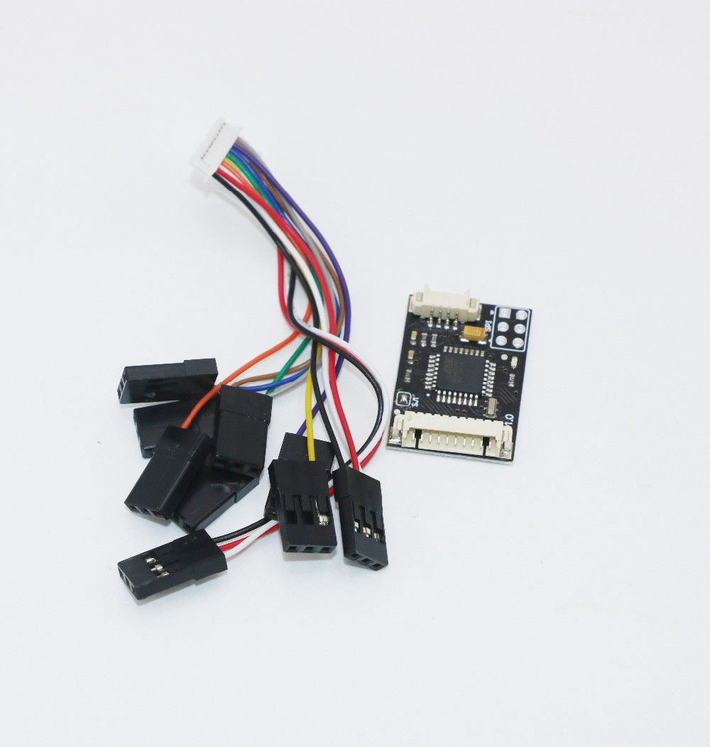 Autopilot pixhawk 2.4.8 px4 32 Bit Flight Controller with Safety Switch /Buzzer/ SD/Splitter Expand Module