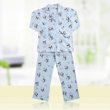 6 – 14-Years-Old Children Clothing Set Kids Pajama Sets Pijama Set Sleepwear in Spring Autumn in 100% Cotton