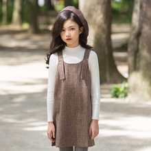 Г. Осенний свитер для девочек новые детские хлопковые топы, мягкий свитер для малышей Вязаные рубашки с длинными рукавами для малышей универсальная рубашка#3416