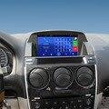 8 polegada da tela de Capacitância tela de Toque Do GPS Do Carro para Mazda 6 M6 2002-2008 Suporte Do Sistema Android Smartphone WiFi Espelho-link Bluetooth