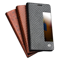 QIALINO Case For Huawei Mate 9 Mate 9 Pro Luxury Genuine Leather Flip Cover For Huawei