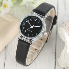 Women Watch Trendy Girl Quartz Leather Elegant Modern Ladies Simple Simple Business Wrist Watch Casual Fashion New arrival Xmas
