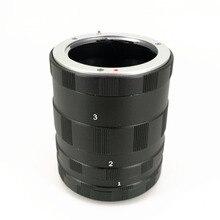 Макро удлинительная трубка, 3 кольца для Panasonic Olympus, M43, MFT, объектив камеры EM1, EM5, EM10, EP5, EPL6, GX7, GX1, GH3, G5, G6