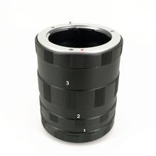 Macro Extension Tube 3 Ringe für Panasonic Olympus Makro 4/3 M43 MFT Kamera Objektiv EM1 EM5 EM10 EP5 EPL6 GX7 GX1 GH3 G5 G6