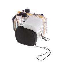 Meikon Underwater Diving Camera Waterproof Housing Case For Canon G16 as WP-DC52