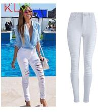 2017KLV sexy pantalones newly stylish Womens Denim Skinny Jeans Stretch Pencil Trousers Slim Long Pants  calcas 17May 12