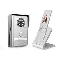 JERUAN New Doorbell Intercom Doorphone Wireless Video Door Phone With Memory Image Station Outdoor Night Vision
