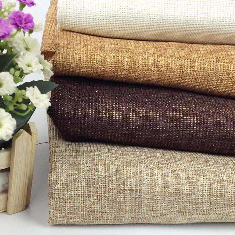1 Yard 91 * 150cm, Jute Linen Look Metallic Fabric, Bordduk Fabric, Tissus Stoffer For Foto Bakgrunn, Diy Søm Materiale
