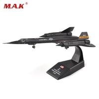 1:144 SR-71 Için Blackbird Keşif Uçağı Modeli Oyuncak Diecast Alaşım Avcı Oyuncak Hediye/Koleksiyon