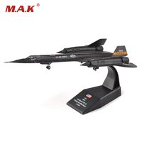 1 144 SR 71 Blackbird Reconnaissance Aircraft Model Toy Diecast Alloy Fighter Toy For Gift Collection