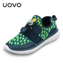 UOVO Garçons et Filles Mode Sport Chaussures Slip-on Respirant Enfants Chaussures Lumière-poids Enfants Chaussures de Haute qualité