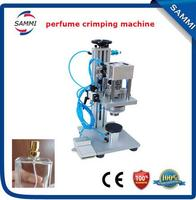 Semi automatic new style perfume crimping machine for spray type caps