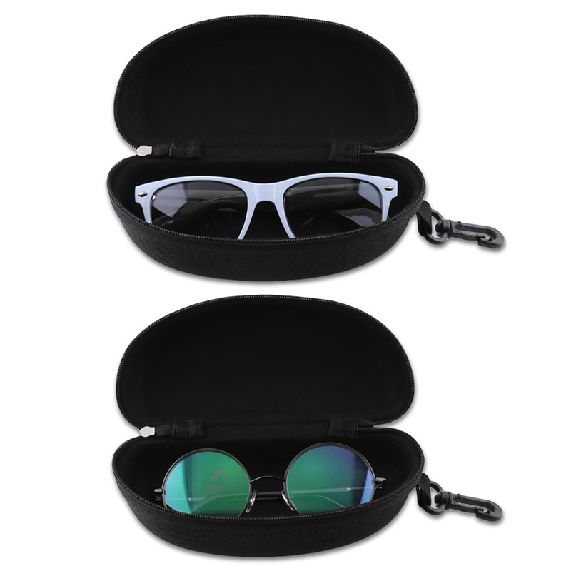 Zipper Sunglasses Hard Case Eye Glasses Protector Portable Container Box Ql Sale Eyewear Accessories Back To Search Resultsapparel Accessories