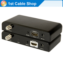 HDMI Extender Splitter Matrix Via RF Coaxial Cable up to 500M full HD1080P