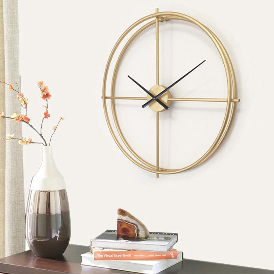 Модные креативные современные дизайнерские настенные часы гостиная большие декоративные Horloge Murale цифровые часы механизм домашний декор ...