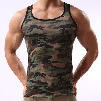 Männer Tank Top Bodybuilding Fitness Sommer Unterhemd  1