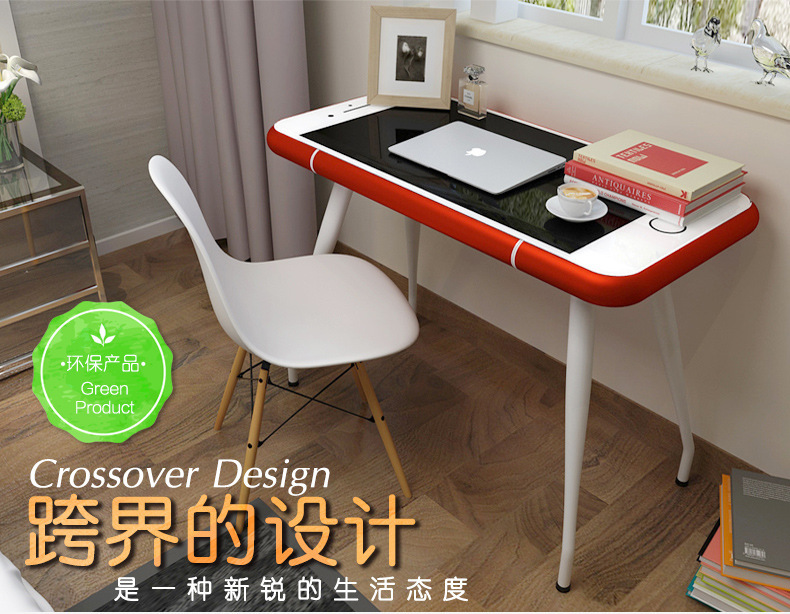 Design Bureau Woonkamer : Nieuwe ontwerp iphone stijl schrijftafeltje bureau wit tafel