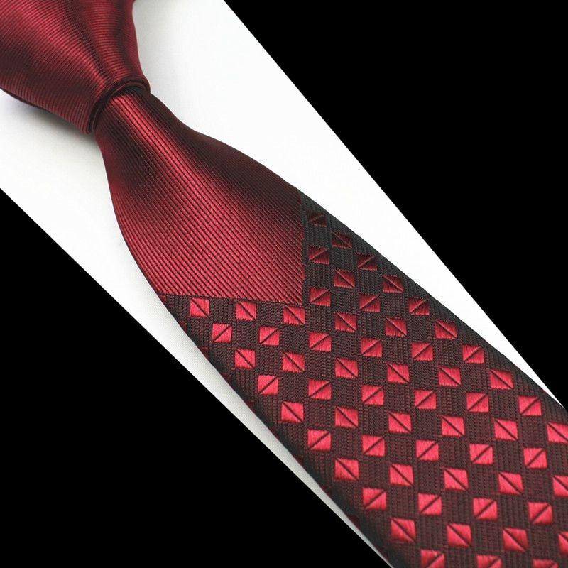 GUSLESON Nuevo Flaco Hombre Corbatas Hombre de lujo Floral Punto - Accesorios para la ropa - foto 3