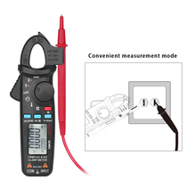 ACM91 Digital Clamp Meter Professional LCD Multimeter AC/DC Voltmeter Ammeter Capacitance Continuity Test Temperature Tester newest mastech ms8239d digital automotive multimeter and engine analyzer dwell angle speed 4cyl 8cyl continuity test